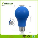ampoule A19 équivalente bleue de l'ampoule 40W de 5W E26 A19 DEL pour la décoration