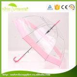 ombrello trasparente di Sun della pioggia promozionale degli ombrelli di 8K x di 21inch