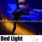 PIRの動きセンサーライトストリング4AA電池式の作動した寝室の照明ストリップ