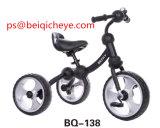 おもちゃのスクーター3の荷車引きのベビーカーの中国の子供の赤ん坊の三輪車のバイクの乗車