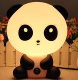De dierlijke Lichte Hond Panda/van de Nacht draagt de Leuke Lamp van het Konijn