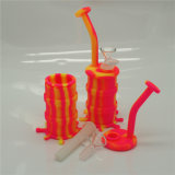 Масла шлиха Weed травы табака восьминога Китая снаряжение ЛИМАНДЫ силикона оптового куря с стеклянным Banger шара или кварца