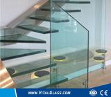 緩和された低い鉄の浮遊物の薄板にされたガラス二重ガラスの真空の