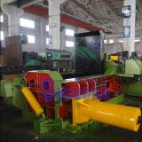 Prensa de aço de alumínio dos aparas de Turnings das estacas do ferro de cobre da sucata