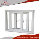Aluminio que resbala la ventana de desplazamiento doble del metal de la ventana de cristal