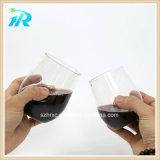 10 finger-Kurven-Martini-Glas Unze-300nl preiswertes Plastikin der Masse