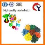 Blanco/Negro/azul/rojo/Verde/Amarillo/morado/llenado/ China de plástico de color Masterbatch