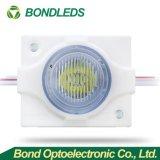 Nueva llegada 1,8 W 150-180Impermeable IP 67 lm/inyección de PCS módulo LED con lentes