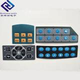 Imperméables en plastique Superposition de graphiques tactiles panneau du clavier