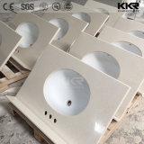 Kingkonree kundenspezifische Größen-Quarz-Marmor-Stein-Küche-Prüftisch-Oberseiten