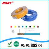 Il colore uniforme di spessore UL1013 ha codificato il collegare di rame isolato PVC