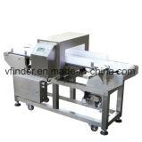 Обработка продуктов питания с помощью толкателя металлоискателя