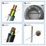 Cable eléctrico Cable Eléctrico Cable de alimentación, 2 de 3 de 4 núcleos Flexible plana cubierta de PVC con doble aislamiento flexible los alambres y cables de cobre del cable de control de precios Cable Rvv