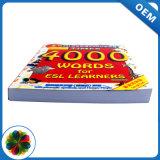 Baixa quantidade mínima de impressão de livro didático escrita para escolas