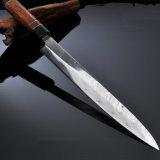 12 pulgadas en Suecia de Acero de polvo de cuchillo de cocina japonesa de filete (JD11).