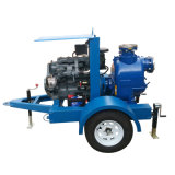 Não obstruir a auto Escorva da Bomba do Motor Diesel Horizontal