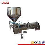De semi Automatische het Vullen van de Wijn Machine van het Flessenvullen van het Glas van de Machine
