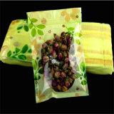 Comercio al por mayor vacío personalizados papel de aluminio El té verde de la bolsa de embalaje