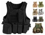 8カラー軍ギヤMolleの戦闘の柔らかい安全保護軍隊の戦術的なベスト