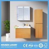 Casa de Banho de alta qualidade toucador com espelho de LED e acabados de melamina HS-B1102-600