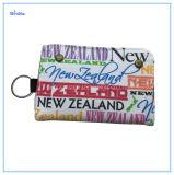 Couleur blanche de la Nouvelle-Zélande Lettre de la conception de l'impression sac de toile