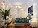 Le WPC WAIST LINE décoratifs en PVC de moulage de garniture de panneau mural en plastique (AA19)