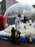 Boule de Neige gonflable Bouncy Castle pour fêtes de Noël