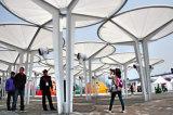 Для использования вне помещений ткань ПВДФ мембранные структуры палатка