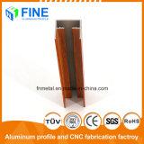 Стандартные алюминиевые детали с деревянными передачи в Фошань