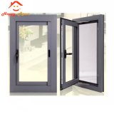 Finestra di vetro di alluminio dell'alluminio di ora/del blocco per grafici di scivolamento con la rete di zanzara