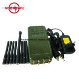 Teléfono celular Portátil Jammer señal Jammer GPS con cargador de coche, móvil y la señal GPS Jammer con cargador de coche, de mano de 8 canales Jammer Blocker