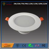5W 85-265V tagliato 95mm SMD LED giù si illuminano con approvazione di RoHS del Ce