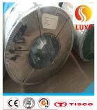 Bobine en acier inoxydable en acier galvanisé ASTM 201 304