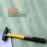 Молоток типа мачюиниста ручки пластичного покрытия H-14 немецкого