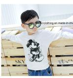스웨터 긴 소매 만화에 의하여 모방되는 아이들 t-셔츠