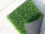Hierba artificial del PE de los PP para ajardinar del jardín