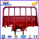 De China de la fábrica 40feet 3 del árbol acoplado utilitario del cargo del carro del alimentador semi con la cara de la gota para la venta