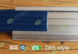 Flair flexible d'escalier d'étage en aluminium de vinyle de protection de mur