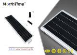 Lampada di via solare Integrated dell'indicatore luminoso del sensore di movimento con una garanzia 50watt da 60 mesi
