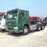 HOWO 6X4 336HP Left Hand Drive Camión Tractor Proveedor de Dangote Group, Dubai segunda mano Tractor