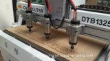 Multi-husillo, madera, aluminio, metal blando CNC Router