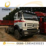 低価格のアフリカのためのベンツの技術の使用されたBeibenのトラクターヘッドトラック6X4