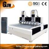 Multi-Spindle, Houten, Aluminium, Zachte CNC van het Metaal Router