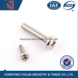 Fabricant de fixation en acier inoxydable Cheese Head Machine Screw
