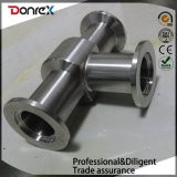 Custom Stainless Steel Investment Casting Pipe Fittings Tee