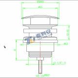 Популярные отход раковины вспомогательного оборудования ванной комнаты/сток тазика (T1017)