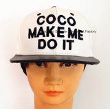 El deporte de cuero de alta calidad de Cap gorras bordadas Urban Fashion gorras con mayúsculas