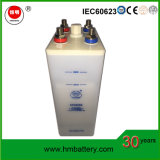 Baterias de armazenamento alcalinas CD 1.2V do Ni 550ah para o UPS e a potência solar