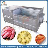 ブラシのピーラー紫色のサツマイモの洗濯機および機械