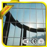O edifício comercial da venda quente laminou a vitrificação dobro desobstruída isolada Baixo-e vidro